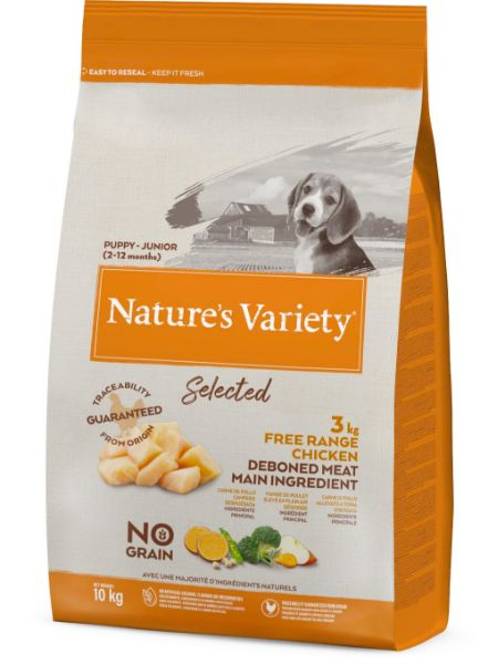Picture of Natures Variety Dog - Selected Dry Puppy Junior Chicken 10Kg