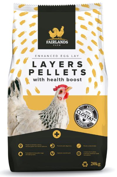 Picture of Fairlands Farm Layers Pellet With Probiotic 20kg
