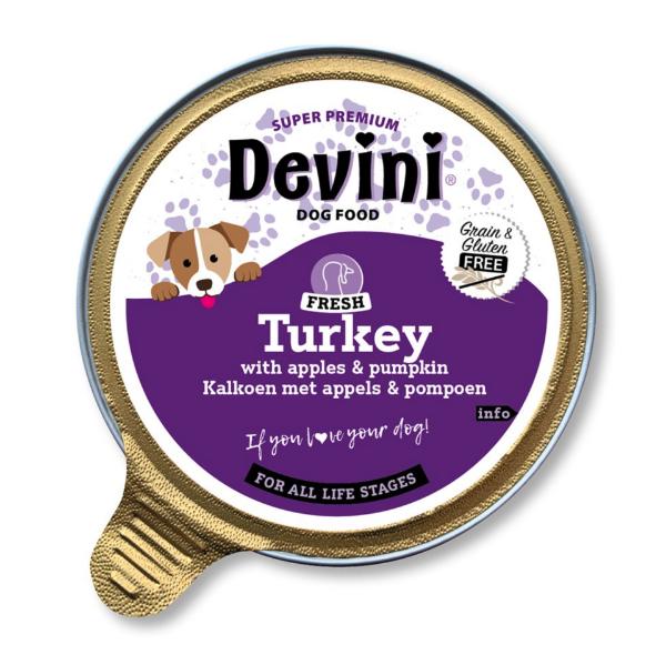 Picture of Devini Dog Food Turkey 12x85g