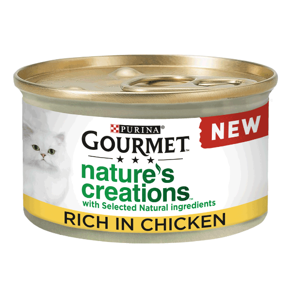 Picture of Gourmet Cat - Nature Creations Multi Chicken 8x85g