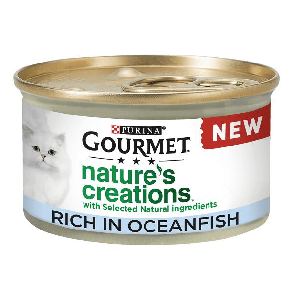 Picture of Gourmet Cat - Nature Creations Multi Ocean Fish 8x85g