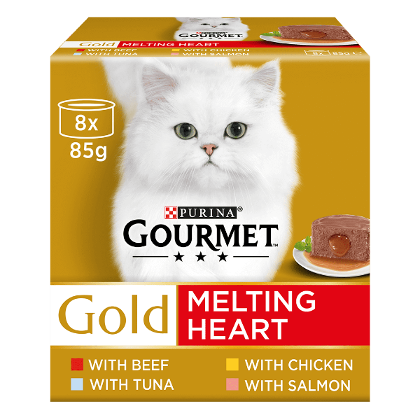 Picture of Gourmet Gold Melting Heart Multipack 8x85g