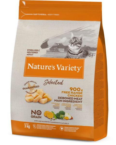 Picture of Natures Variety Cat - Adult Selected Dry Free Run Chicken 3kg