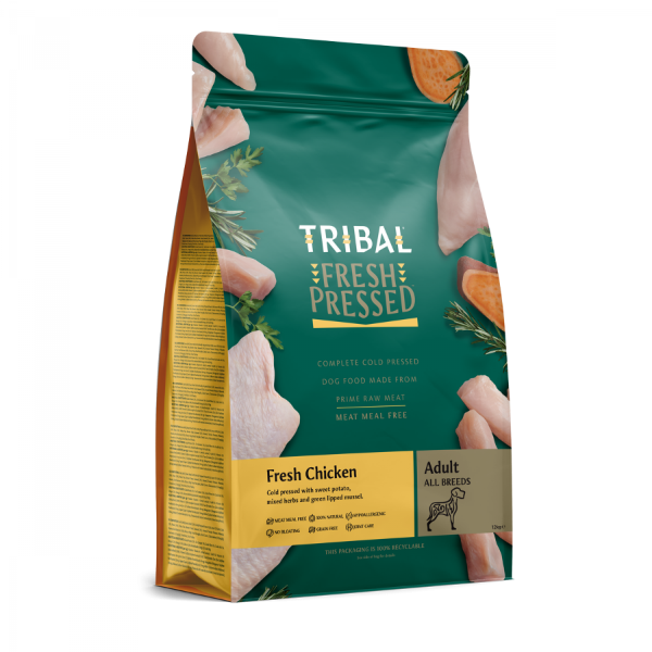 Picture of Tribal Adult Chicken Dry Dog Food 12kg
